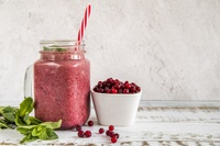 Smoothie fruit rouge & betterave pour bébé