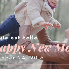 Notre maman-blogueuse Happy New Mom