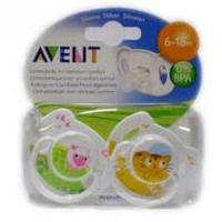 Sucettes Orthodontiques Classic Animaux 6 - 18 mois