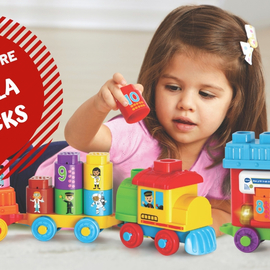 Gagnez un P'tit train Bla Bla Blocks VTECH !