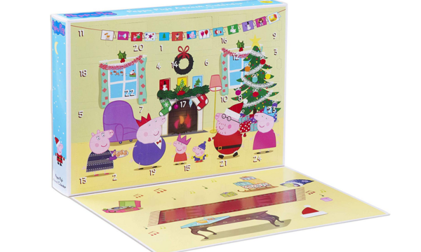 Le calendrier Peppa Pig (28,99€)